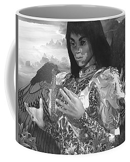 Coffee Mug featuring the digital art Easter Vision by Suzanne Silvir