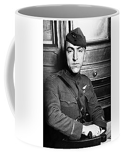 Coffee Mug featuring the photograph Eddie Rickenbacker by War Is Hell Store