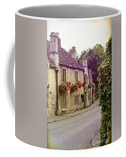 Coffee Mug featuring the photograph English Village by Jill Battaglia