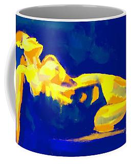 Evening Nude Coffee Mug by Helena Wierzbicki