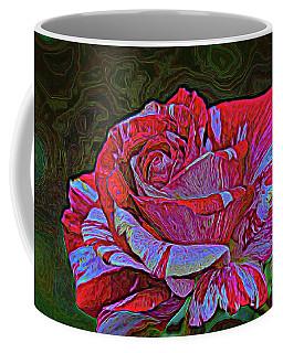 Fire And Ice Coffee Mug by Diana Mary Sharpton