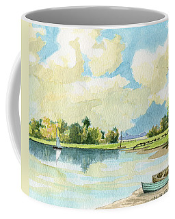 Fishing Lake Coffee Mug