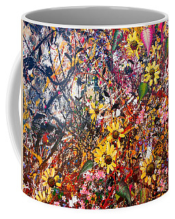 Flourish Detail Coffee Mug