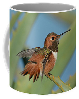 Flutter Coffee Mug by Fraida Gutovich