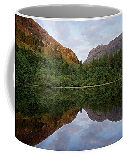 Golden Light In Glencoe Coffee Mug