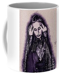 Gothic Female Model Coffee Mug