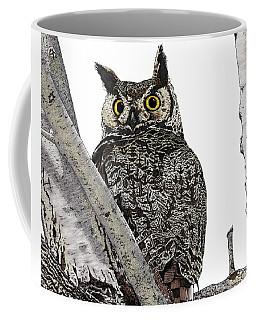 Great Horned Owl Coffee Mug