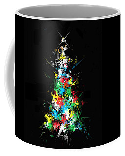 Happy Holidays Coffee Mug by Ludwig Keck