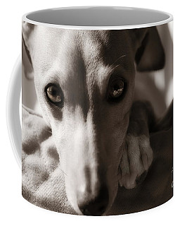 Coffee Mug featuring the photograph Heart You by Angela Rath