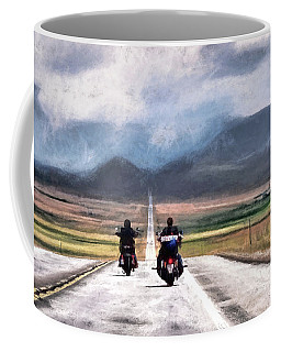 Roll Me Away Coffee Mug by Jim Hill