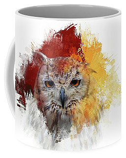 Indian Eagle-owl Coffee Mug