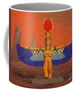 Isis, Mother Goddess Of Egypt By Mary Bassett Coffee Mug