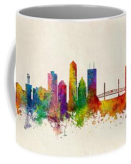 Jacksonville Florida Skyline Coffee Mug