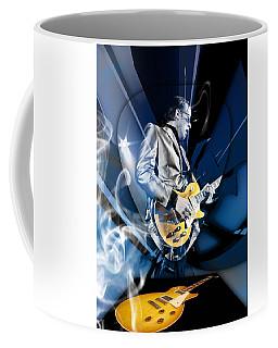 Joe Bonamassa Blues Guitarist Art Coffee Mug