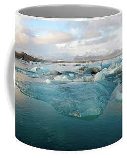 Jokulsarlon The Glacier Lagoon, Iceland 2 Coffee Mug by Dubi Roman