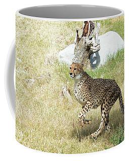 Coffee Mug featuring the photograph Jump by Fraida Gutovich