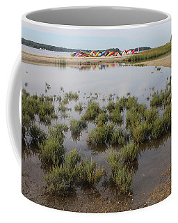 Kayaks Centerport New York  Coffee Mug