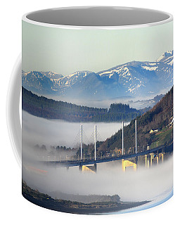 Kessock Bridge, Inverness Coffee Mug