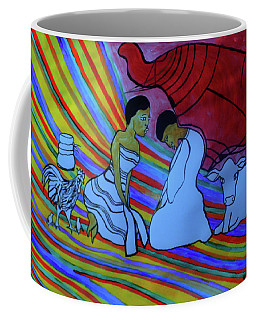 Kintu And Nambi Folktale Coffee Mug