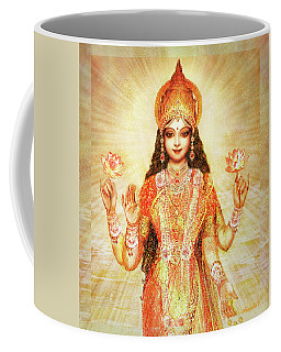 Lakshmi The Goddess Of Fortune And Abundance Coffee Mug