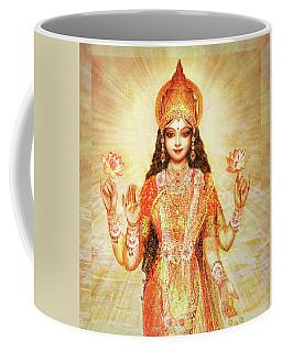 Lakshmi The Goddess Of Fortune And Abundance Coffee Mug