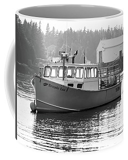 Lobster Boat Coffee Mug by Trace Kittrell