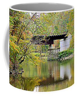 Coffee Mug featuring the photograph Lock 29 by Kristin Elmquist