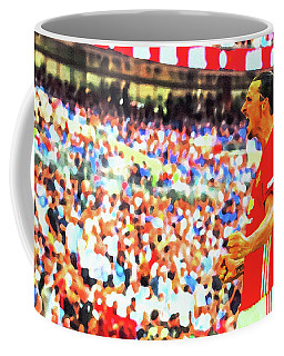 Manchester United's Zlatan Ibrahimovic Celebrates Coffee Mug