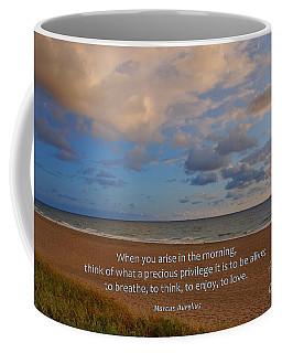 2- Marcus Aurelius Coffee Mug by Joseph Keane
