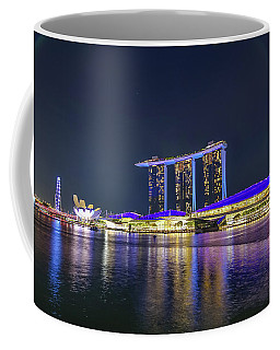Marina Bay Sands And The Artscience Museum In Singapore Coffee Mug