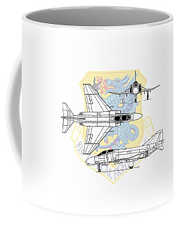 Mcdonnell Douglas F-4d Phantom II Coffee Mug