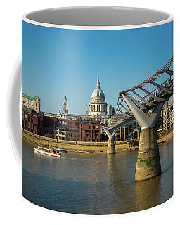 Coffee Mug featuring the photograph Millennium Bridge by Stewart Marsden