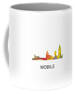 Mobile Alabama Skyline Coffee Mug