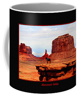 Coffee Mug featuring the photograph Monument Valley II by Tom Prendergast