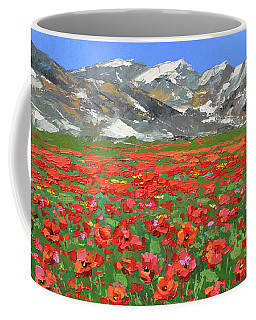 Mountain Poppies Coffee Mug