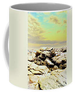 Coffee Mug featuring the photograph Mouth Of Margaret River Beach IIi by Cassandra Buckley