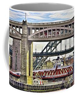 Newcastle Upon Tyne Bridges Coffee Mug