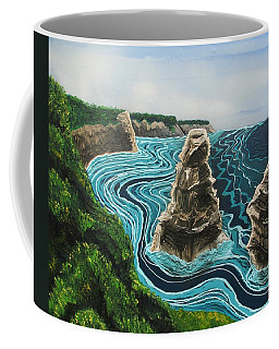 Coffee Mug featuring the painting 2 Of The 12 by Joan Stratton