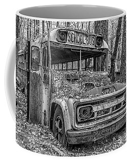 Old School Bus Coffee Mug