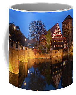 Nuremberg At Night Coffee Mug