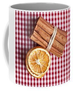 Orange And Cinnamon Coffee Mug