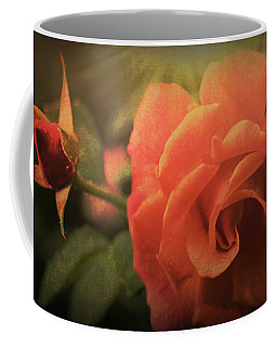 Orange Rose Coffee Mug by Cathy Donohoue
