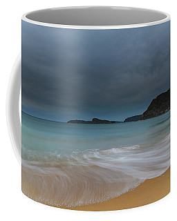 Overcast Cloudy Sunrise Seascape Coffee Mug