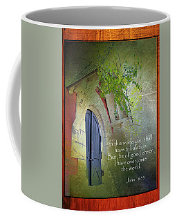 Overcoming Coffee Mug by Larry Bishop