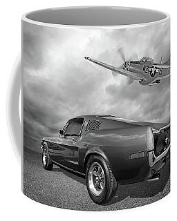 p51 With Bullitt Mustang Coffee Mug