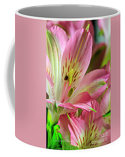 Peruvian Lilies In Bloom Coffee Mug