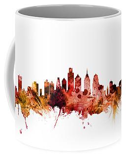 Philadelphia Pennsylvania Skyline Coffee Mug