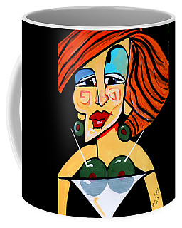 Big Boobs Picasso By Nora Coffee Mug