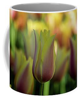 Pink And Yellow Coffee Mug