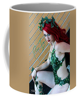Poison Ivy -cosplay Coffee Mug